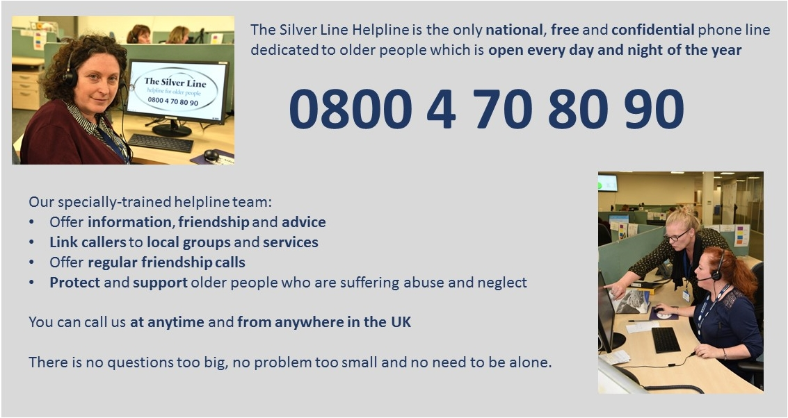 SilverLine helpline